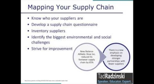 Benchmarking and Measurement: Understanding Your Supply Chain