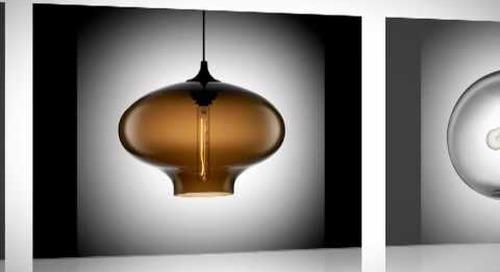 Niche Modern Summer Blues Sale - Handmade Modern Lighting