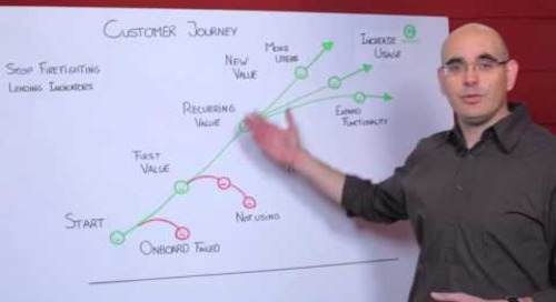 How to create a customer journey - Totango