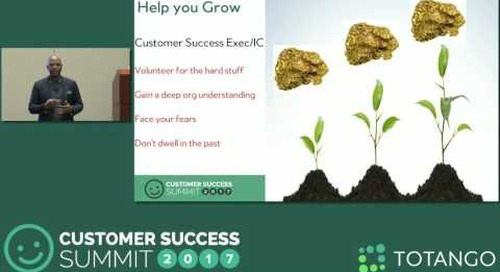 [Track 3] Talent Customer Success Executives Really Need - Customer Success Summit 2017