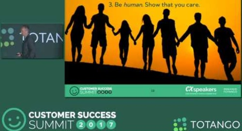 Three Often Overlooked Customer Success Strategies - Customer Success Summit 2017