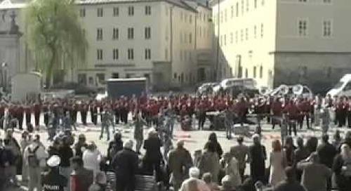 Hunterdon Central Regional High School | Marching Band Performing in Austria