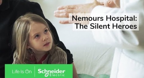 IoT Enabled EcoStruxure™ Ensures Reliability for Nemours Hospital
