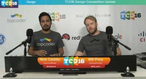 Topcoder Open 2016 - Design Finalists Announcement #programming #design