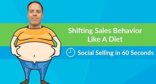 Shift Your Sales Behavior Like Your Diet