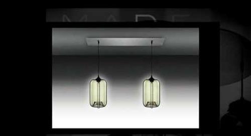 Niche Modern Chandeliers with Smoke Pendant Lights