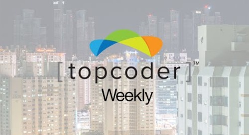 Topcoder Weekly S01E10