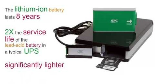 APC by Schneider Electric - Advantages of a Lithium-ion UPS