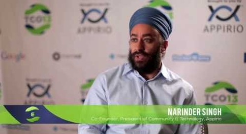 2013 TopCoder Open - Co-Founder, Narinder Singh Talks Community