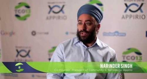 2013 TopCoder Open - Co-Founder, Narinder Singh Talks Community