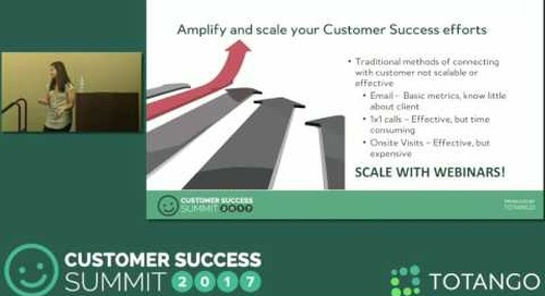 [Track 1] Level Up Your CS Strategy with Customer Marketing - Customer Success Summit 2017