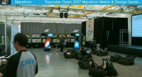 TCO17 Marathon Match & Design Semi Finals Round 2