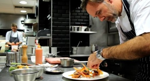 Cooking Quail with Marcus Wareing