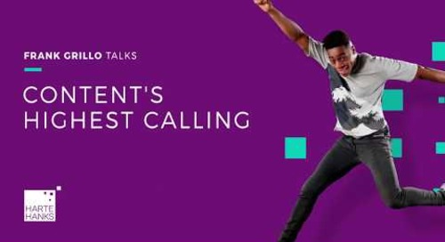 Content's Highest Calling
