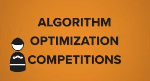 Topcoder Crowdsourcing Competition - Algorithm Optimization