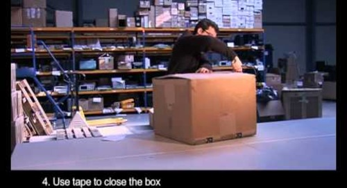 How to video: Packing a box when returning rental test equipment | Electro Rent Europe