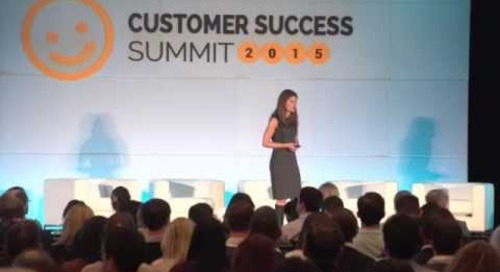 Use Design-Thinking to Ignite Creativity and Drive Customer Success - Customer Success Summit 2015