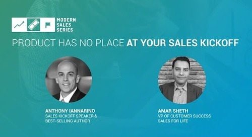 Product Has No Place At Your Sales Kickoff