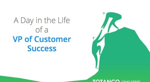 A day in the life of a VP of Customer Success