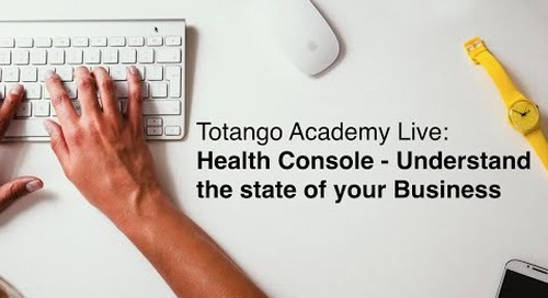 Health Console - Understand that state of your Business