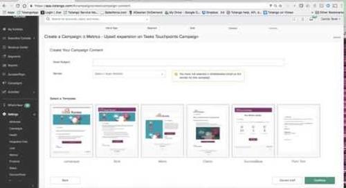 Leverage Totango's Metrics to drive processes, communication, and improve customer Health