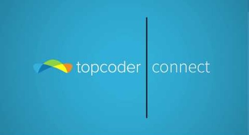 Topcoder Connect: The easiest way to go from idea to app