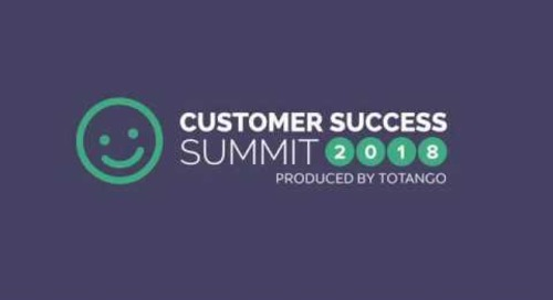 Customer Success Hero Awards - Customer Success Summit 2018