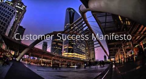 Customer Success Manifesto