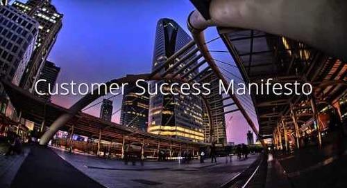 Customer Success Manifesto