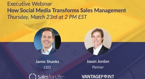 Executive Webinar: How Social Media Transforms Sales Management
