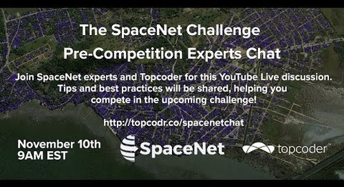 The SpaceNet Challenge Pre-Competition Experts Chat