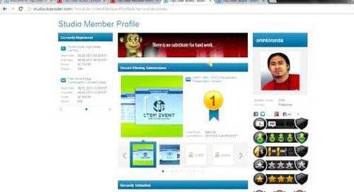 TopCoder Studio Member Tutorials | Achievement Badges by krampus