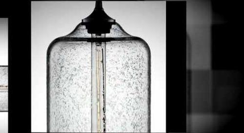 Bella Glass Pendant Light by Niche Modern