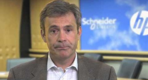 Schneider Electric & HP - Powerful Data Center Convergence Partners