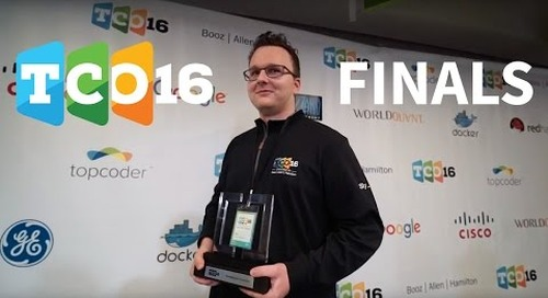 2016 Topcoder Open Highlights