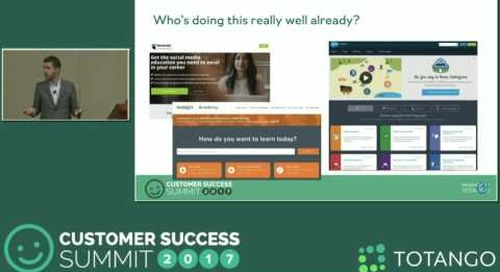 [Track 2] Customer Education As Your Scale Engine - Customer Success Summit 2017