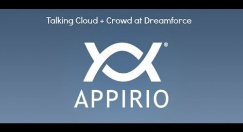 Talking Cloud + Crowdsourcing at Dreamforce '13 - One-on-One Request with Appirio