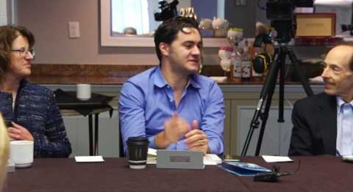 Gabriel Mas on the Samsung Experience Center