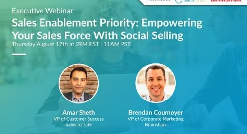 Executive Webinar: Empowering Your Sales Force With Social Selling   Augu