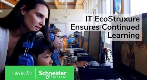 IoT EcoStruxure™ Ensures Continued Learning at Bainbridge Island School District