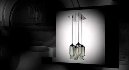 Niche Modern Chandeliers featuring Gray Pendant Lights