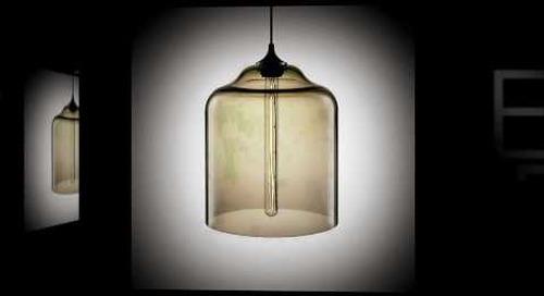 Bell Jar Modern Pendant Light by Niche Modern