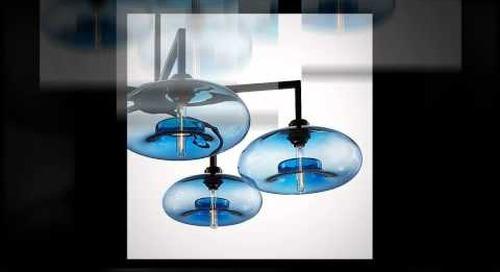 Sapphire Modern Chandeliers by Niche Modern