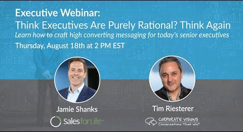 Executive Webinar: Think Executives Are Purely Rational? Think Again