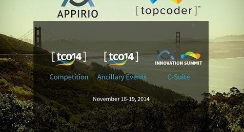 2014 topcoder Open Sponsorship Information