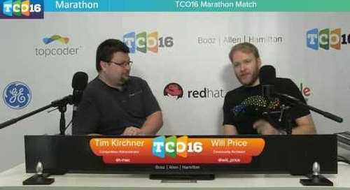 Topcoder Open 2016 - Marathon Match & Design Semifinals 1 - Part 2 #programming #design