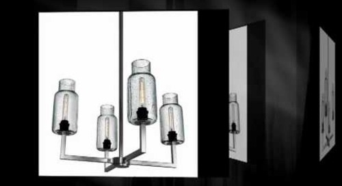 Effervescent Modern Chandeliers by Niche Modern
