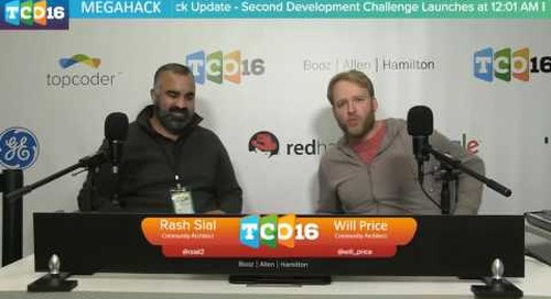 Topcoder Open 2016 - Competitor Introductions & Megahack Update #2