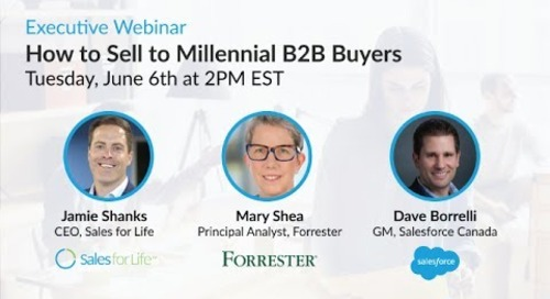 Executive Webinar: How to Sell to Millennial B2B Buyers