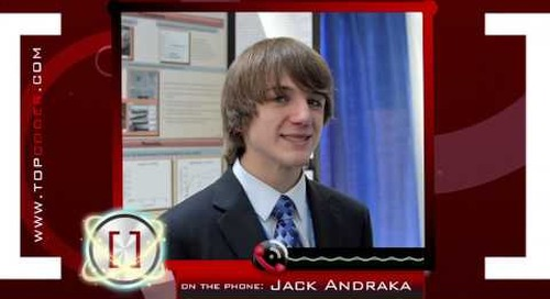 Jack Andraka - How a 15 Year Old Rocked the Healthcare World - TopCoder Interview